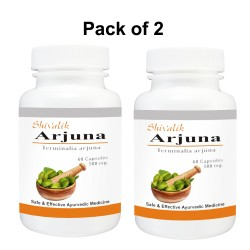 Arjuna-Terminalia arjuna 120 Capsules Speical for Heart Support