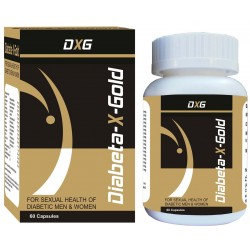 Diabeta X Gold 60 Capsules Special For Sexual Health of Diabetic Men & Women