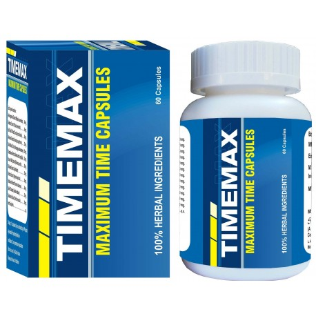Timemax 60 Capsules Increase Sex Time & Power.
