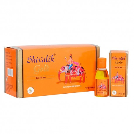 Shivalik Gold Oil 25 Ml X10 Enjoy a new life with your life partner.