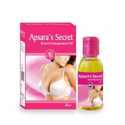 Apsara's Secret Breast Enlargement Oil 25ml X 3 Bottles