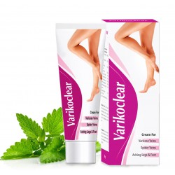 Indian Ayurvedic Varikoclear cream 50gm Tubes Cure Varicose Veins.